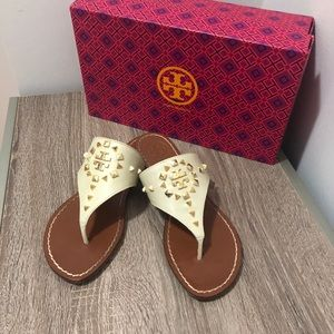 👡 Studded Tory Burch Sandals EXCELLENT condition